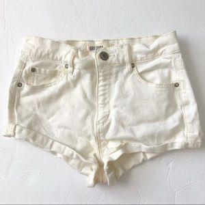 Garage Shorts - Garage Clothing Retro High Waist Jean Short 0